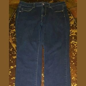 American Eagle Sz 12 Long Skinny Jeans with Stretc